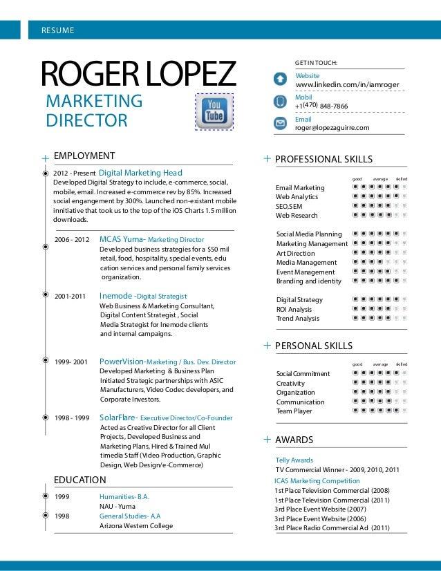 RESUMEROGER LOPEZ                                                                            GET IN TOUCH:                ...