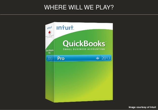WHERE WILL WE PLAY? Image courtesy of Intuit