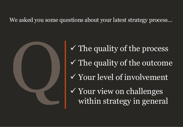 1 2 3 4 high high low low Quality of process Quality of outcome Your view of the process correlates with your view of the ...