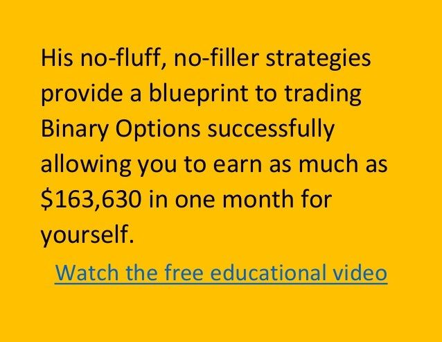 Binary options algorithm software