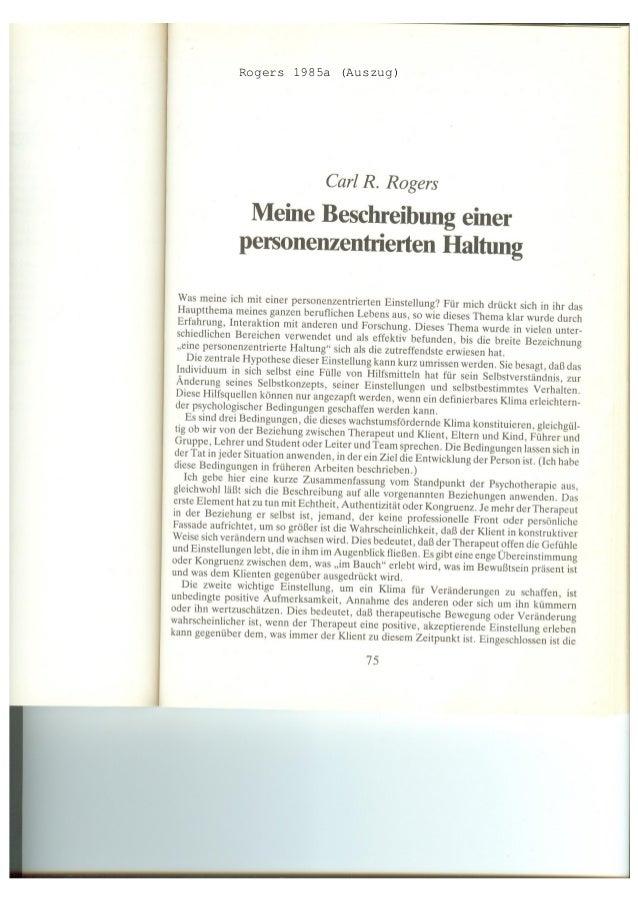 Rogers 1985a (Auszug)