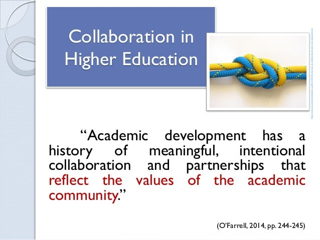 Collaborative Teaching Benefits ~ The benefits of cross institutional collaboration