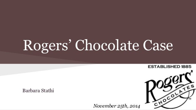 case analysis rogers chocolate 1 using porter s characteristics, describe the interfirm rivalry in the chocolate industry what are the strengths weaknesses of rogers chocolates major.
