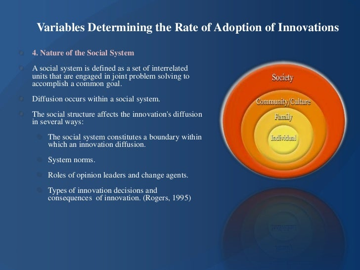 rogers u0026 39  diffusion of innovations model
