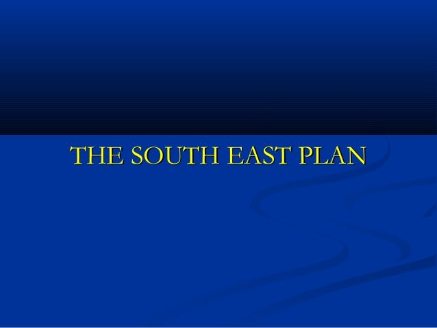 South east plan housing targets