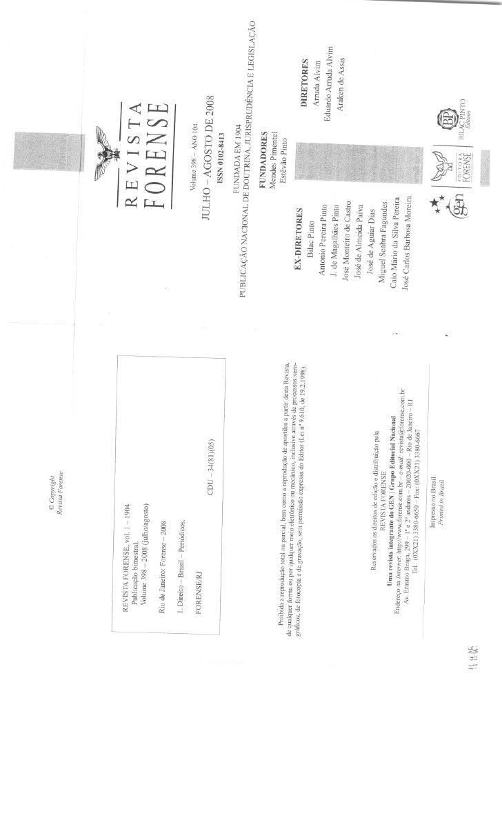 Rogério donnini   culpa post pactum finitum e culpa in contrahendo - responsabilidade aquiliana ou contratual