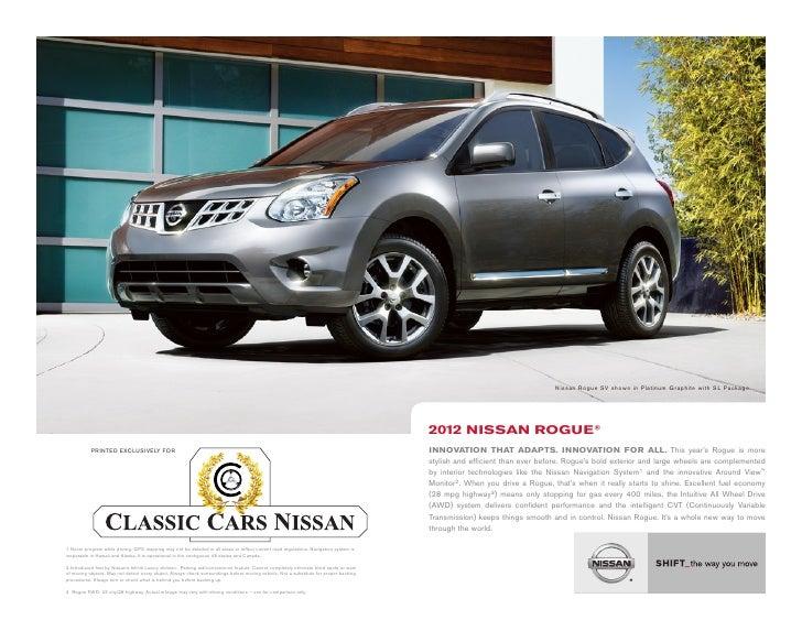 Neil Huffman Nissan >> 2012 Nissan Rogue Brochure