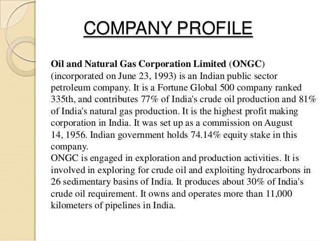research methodology of ongc Read this essay on ongc come browse our large digital warehouse of free sample essays  the comprehensive project report is based on the research methodology and .