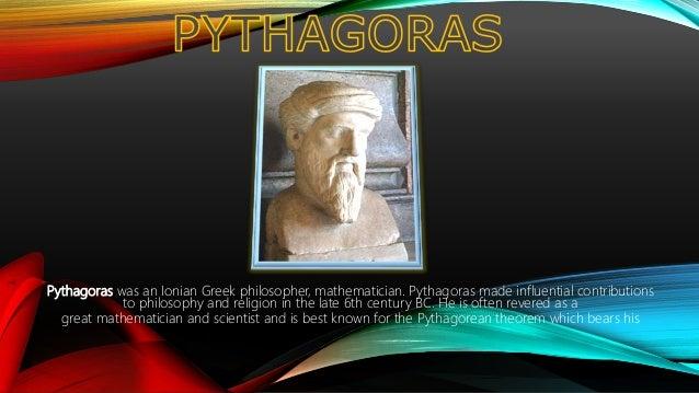 Pythagoras and His works Slide 3