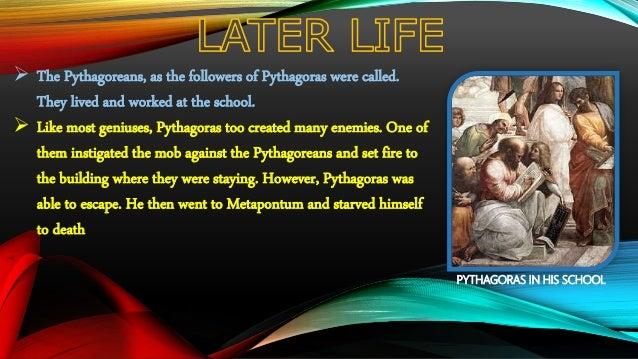 pythagoras and his contribution