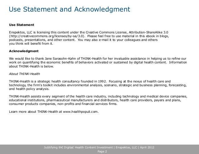 Beyond ROI: Measuring Digital Health Content's Full Economic Benefits Slide 2