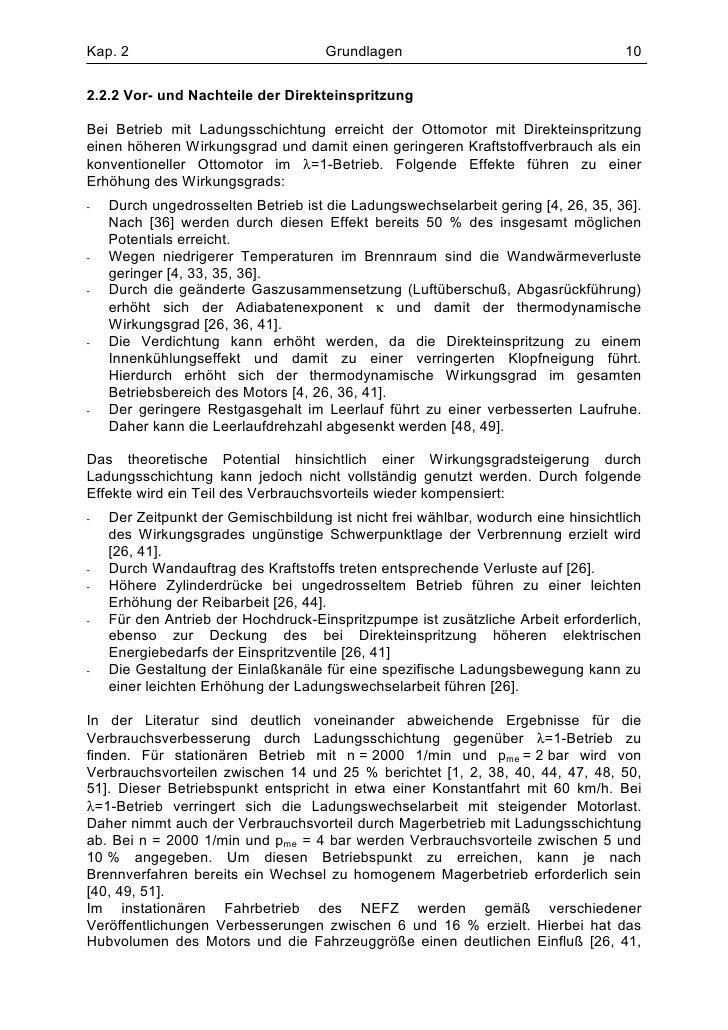 Kap. 2                               Grundlagen                                    102.2.2 Vor- und Nachteile der Direktei...