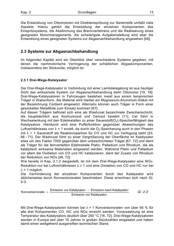 Kap. 2                                  Grundlagen                                      13Die Entwicklung von Ottomotoren ...