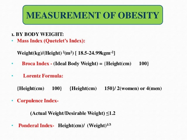 ideal body weight calculation formula pdf
