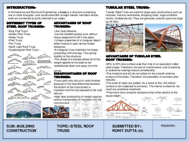 In Architecture and Structural Engineering, a truss is a structure comprising one or more triangular units constructed wit...