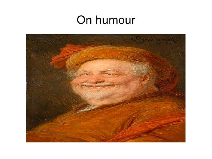 On humour