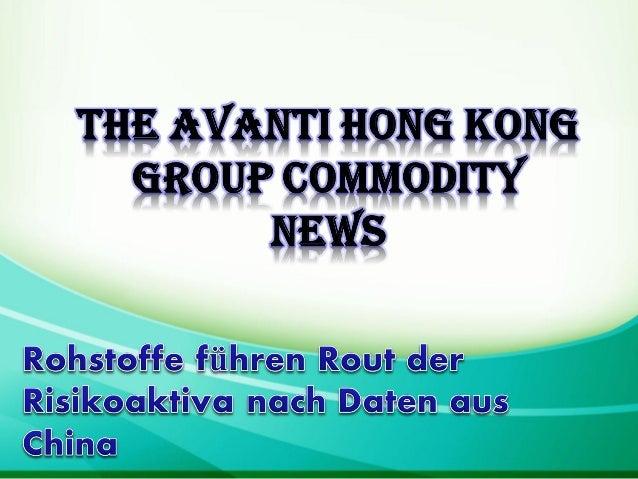 Tokio — Rohstoffe führte eine scharfe, breite Abnahme Risikoaktiva am Montag alsschwächer als erwartet, dass chinesische D...