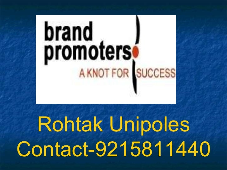 Rohtak Unipoles Contact-9215811440