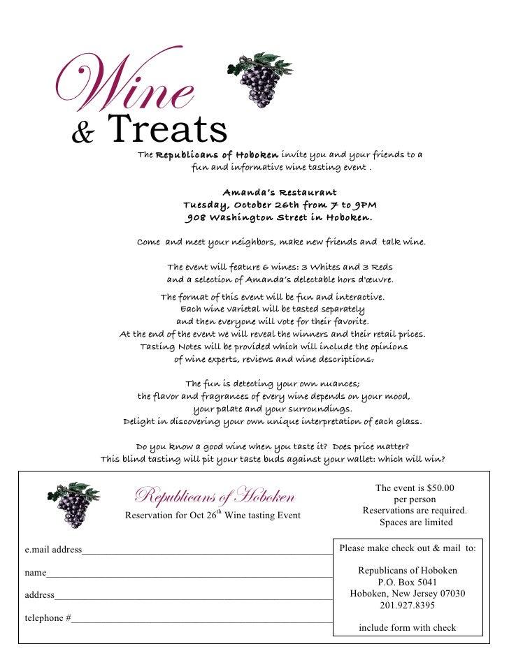 Roh Wine Tasting Invite Form