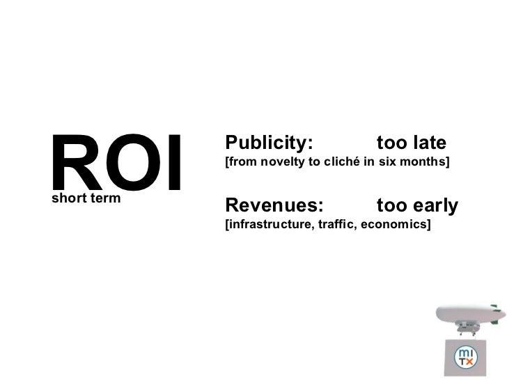 ROI of Second Life Brand Presence Slide 3