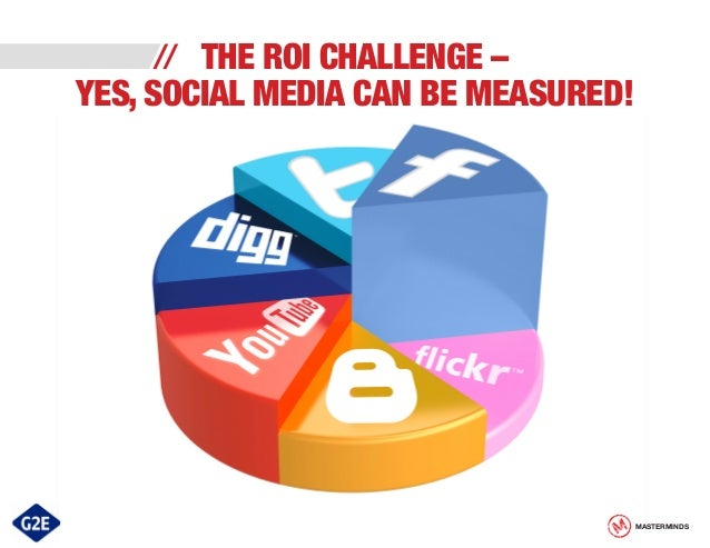 THE ROI CHALLENGE – YES, SOCIAL MEDIA CAN BE MEASURED! //  MASTERMINDS