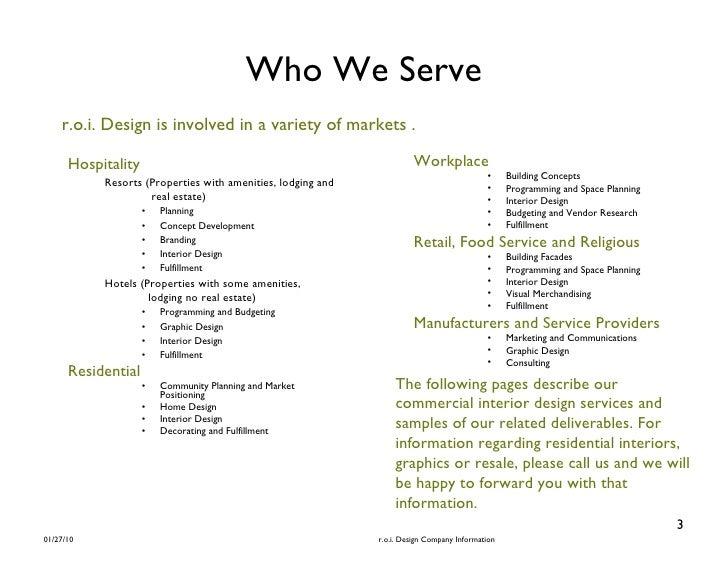 Interior Design Mission Statement Samples Indiepedia