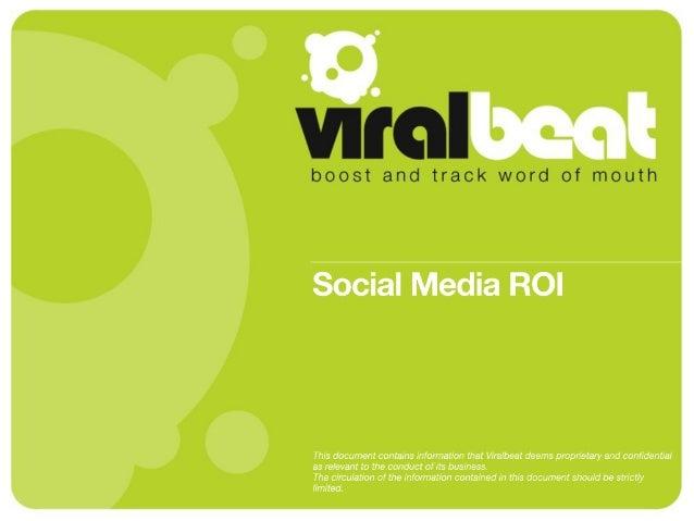 Social Media ROI: Return On Influence