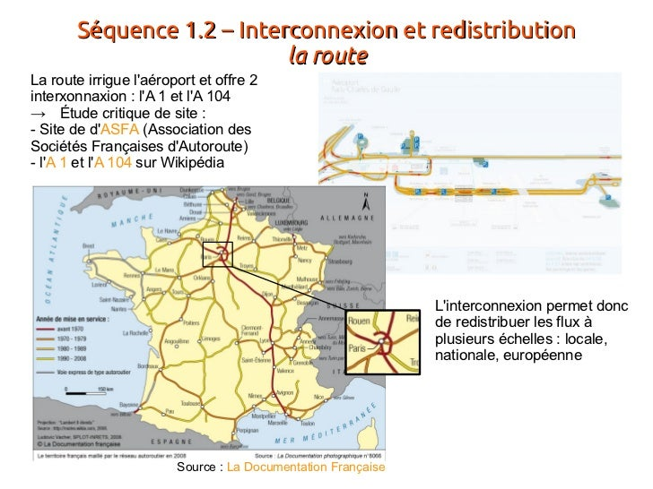 Roissy geo1ere for Route nationale 104