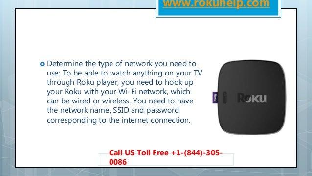 Roku network hook up