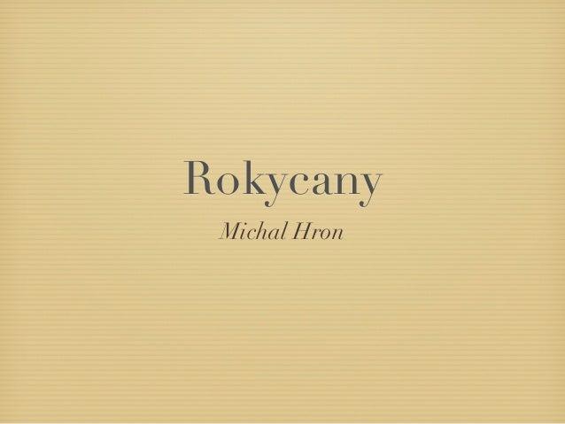 Rokycany Michal Hron