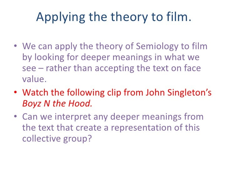 boyz n the hood criminological theory First you have to watch the movie ( boyz in the hood) its like 1:52 minute paper applying criminological theory to the characters in the movie.