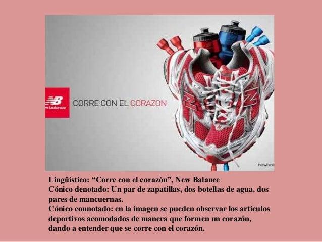 "Lingüístico: ""Corre con el corazón"", New Balance Cónico denotado: Un par de zapatillas, dos botellas de agua, dos pares de..."