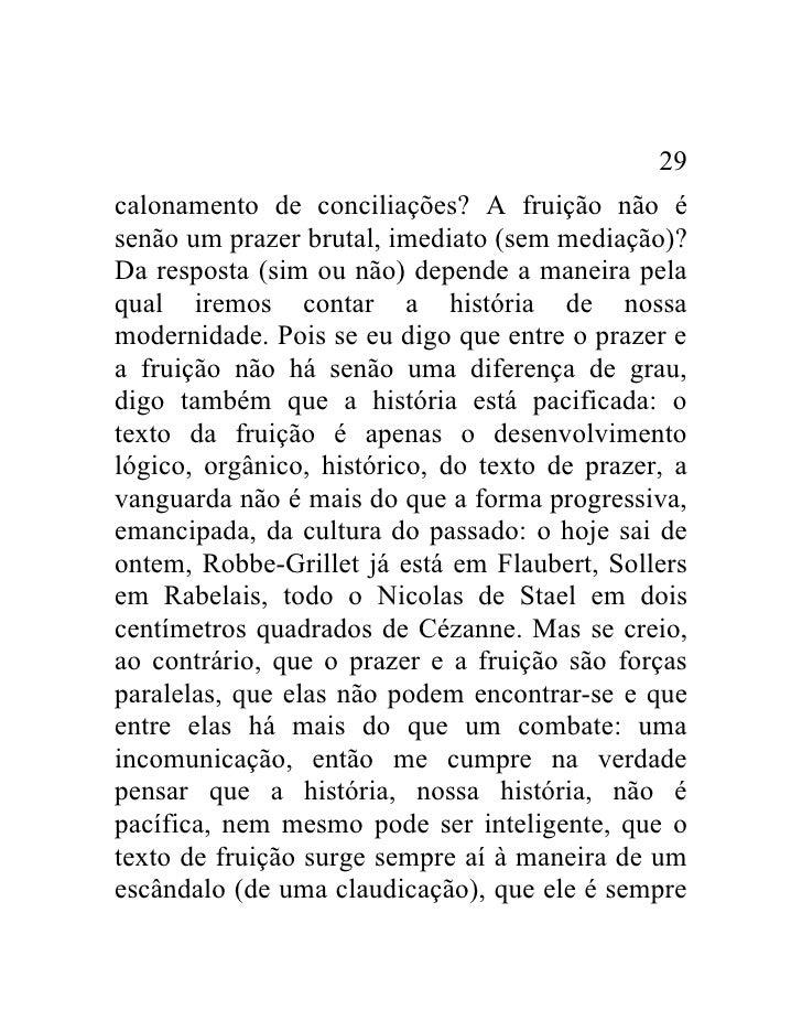 Roland Barthes O Prazer Do Texto