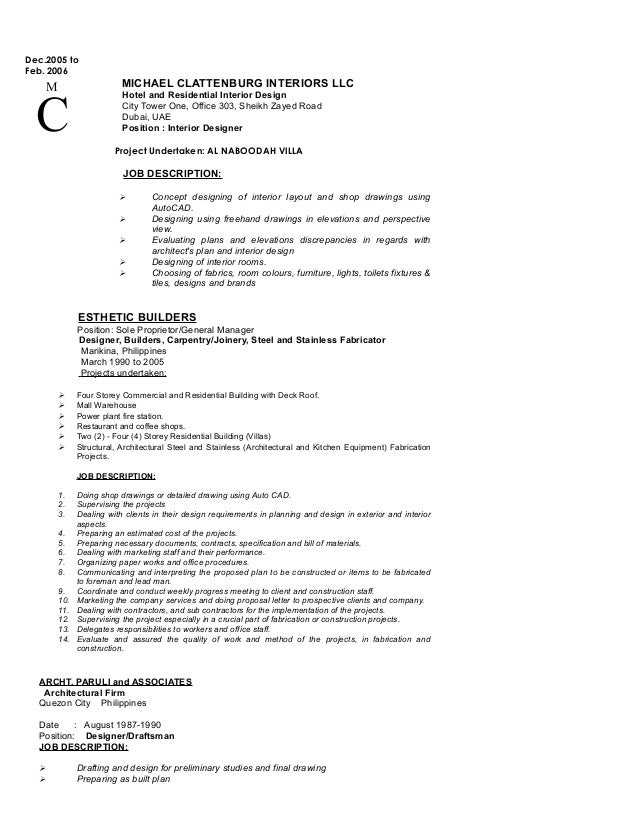 Rolando Alvarez Cv For Site Architect 2