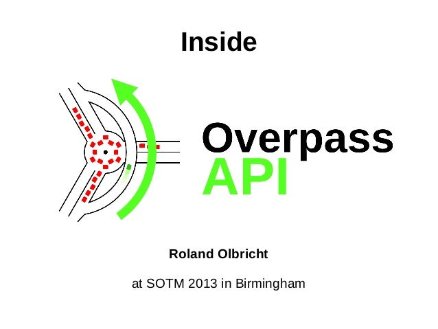 Inside  Roland Olbricht at SOTM 2013 in Birmingham