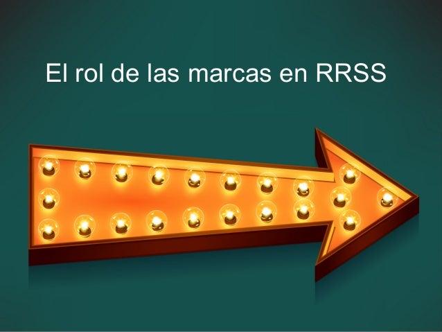 El rol de las marcas en RRSS