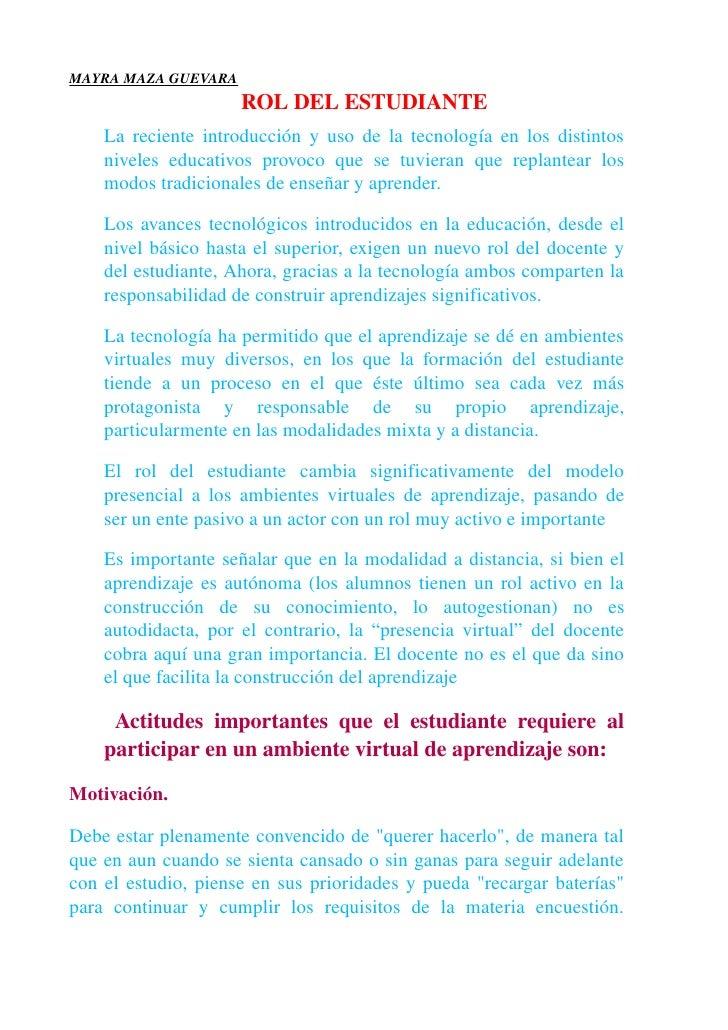 MAYRAMAZAGUEVARA                           ROLDELESTUDIANTE      Larecienteintroducciónyusodelatecnologíaenlo...