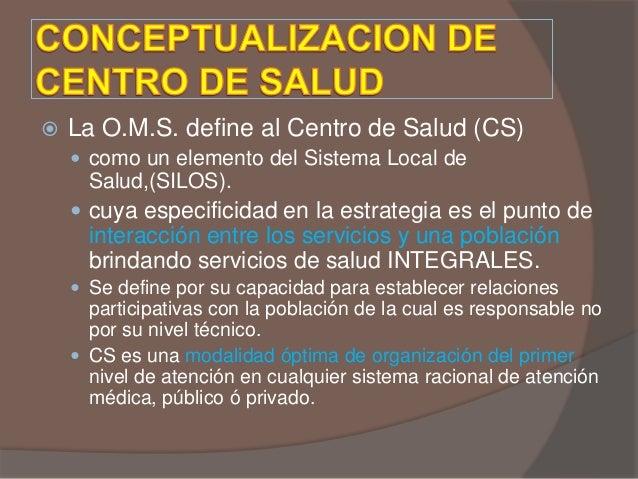 Rol del hospital y los centros de salud - Centro de salud aravaca ...
