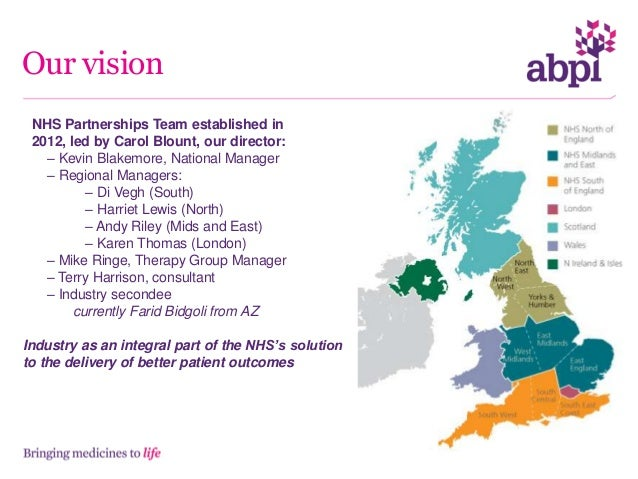 Our partnerships for delivery • We have an MOU with the NHS Confederation, ABHI and Medilinks to support the implementatio...