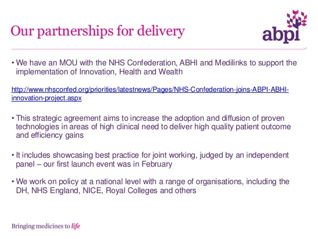 NHS Partnership team priorities We are: - Identifying and sharing local NHS issues, organisational and policy changes with...