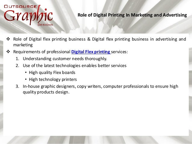 Role Of Digital Printing In Marketing And Advertising