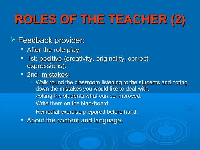 The Duties of a Remediation Teacher