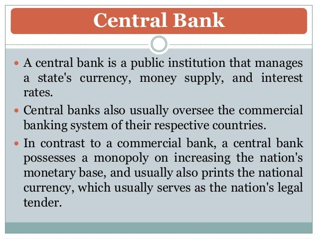 Role And Function Of Nepal Rastra Bank