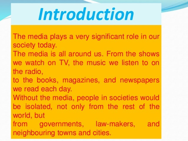 the role of television and radio in society Role of television in the field of education television has been given considerable importance in many countries as a source and a tool of teaching the success stories of using television for education in many countries has negated the concept that television is basically on entertainment oriented medium and it is hostile.