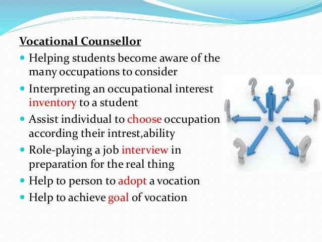 purpose of counselling