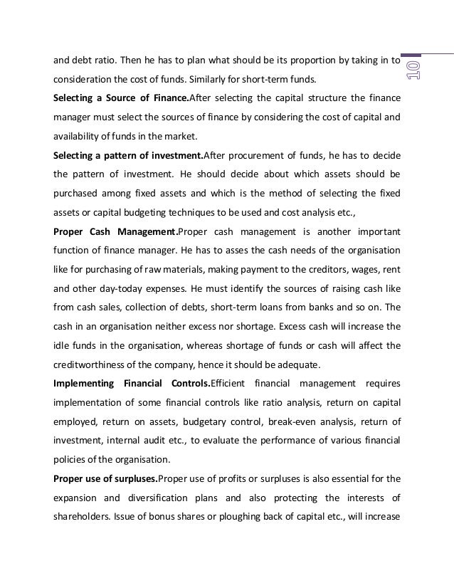 the role of managers in each functional area of business essay In all industrial companies there are a number of key tasks or function that must  be carried  essay on functional areas of business: the role of the manager.