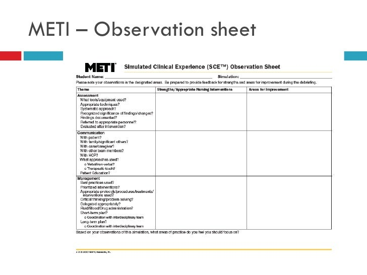 observation exercise the importance of a Have them collect their observations in their drama journals or you can click  below to download the exercise and observation sheet to print.