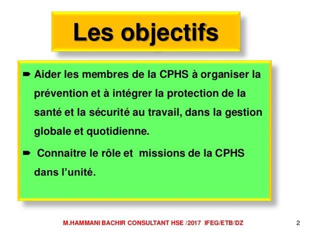 Role et mission commissions hygiène et sécurité Slide 2