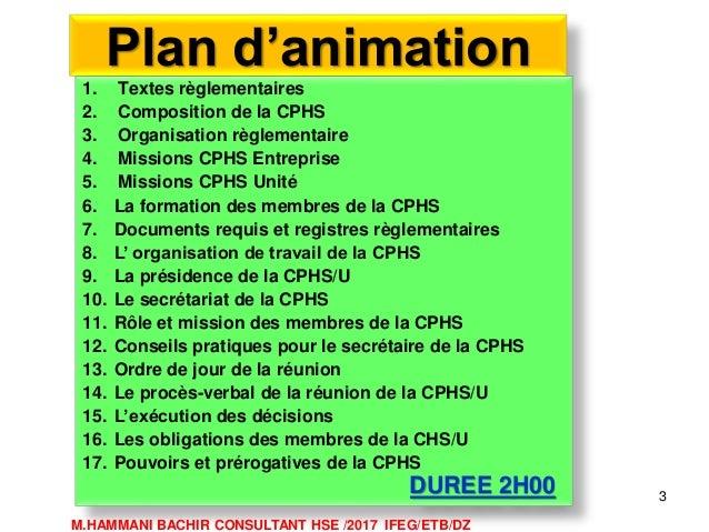 Role et mission commissions hygiène et sécurité Slide 3