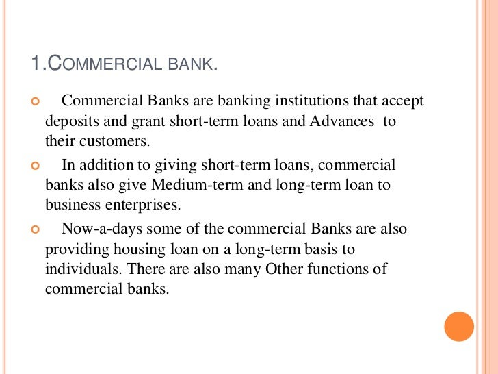 importance of banking institutions